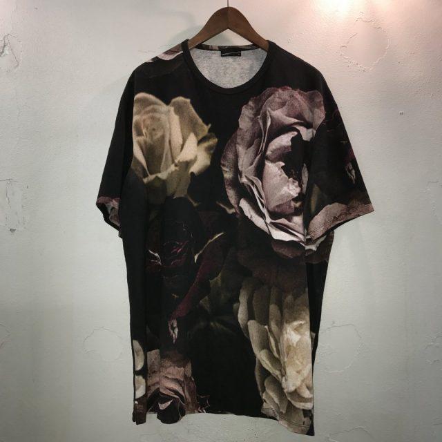 LAD MUSICIAN 17SS T-CLOTH INKJET BIG ROSE