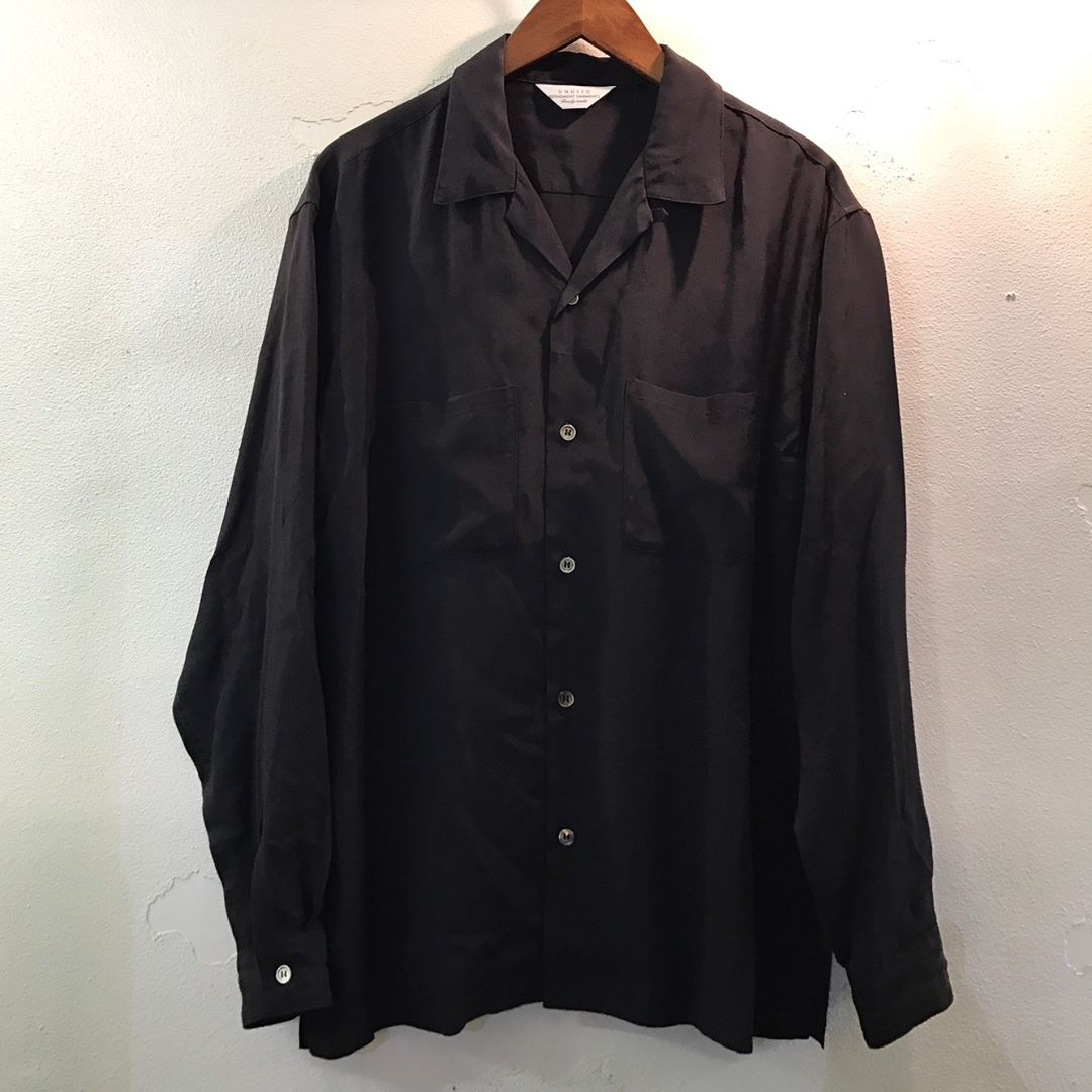 UNUSED 17SS OPEN COLLAR SHIRT