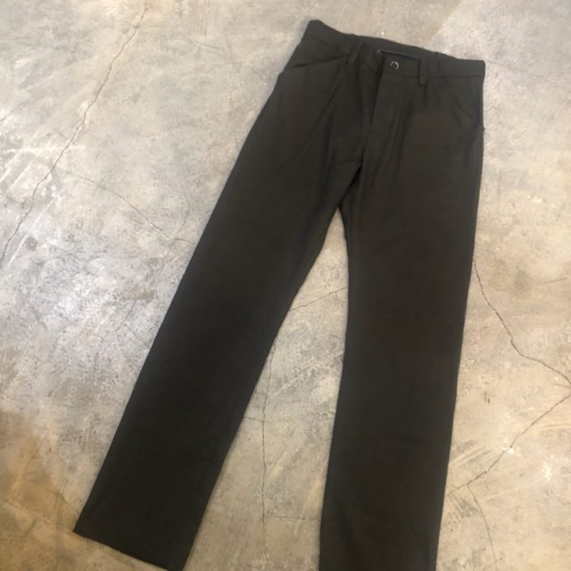 SUNSEA 18AW N.M Brushed Straight Pants