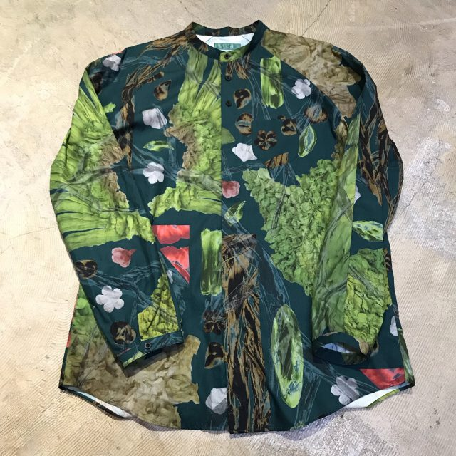 ohta 19SS Dark green uu shirts