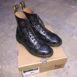 Supreme × UNDERCOVER × Dr.Martens 16AW Anarchy 8-Eye Boot UK8