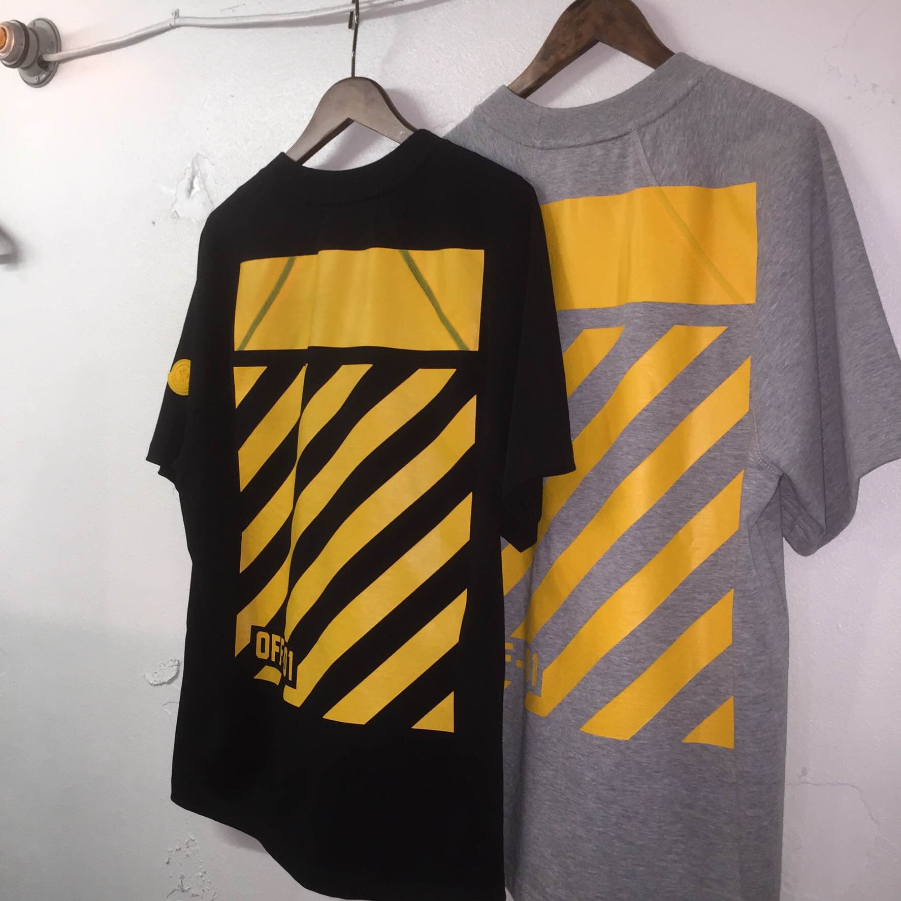 MONCLER O 16AW バックプリントラグランビッグTシャツ