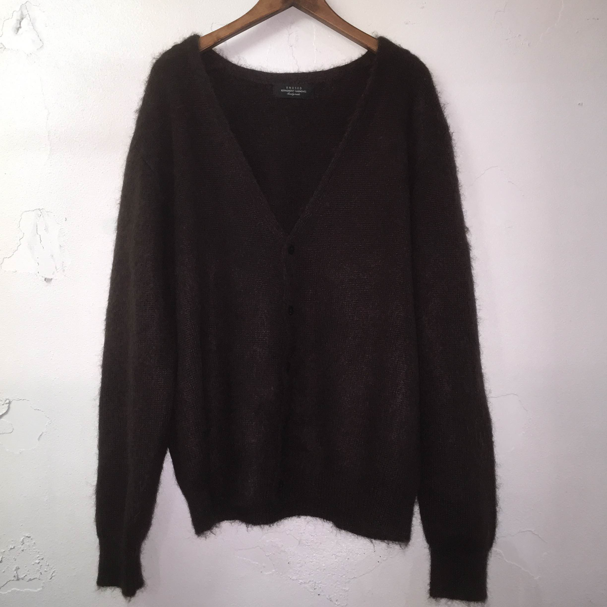 UNUSED 16AW MOHAIR KNIT CARDIGAN 3