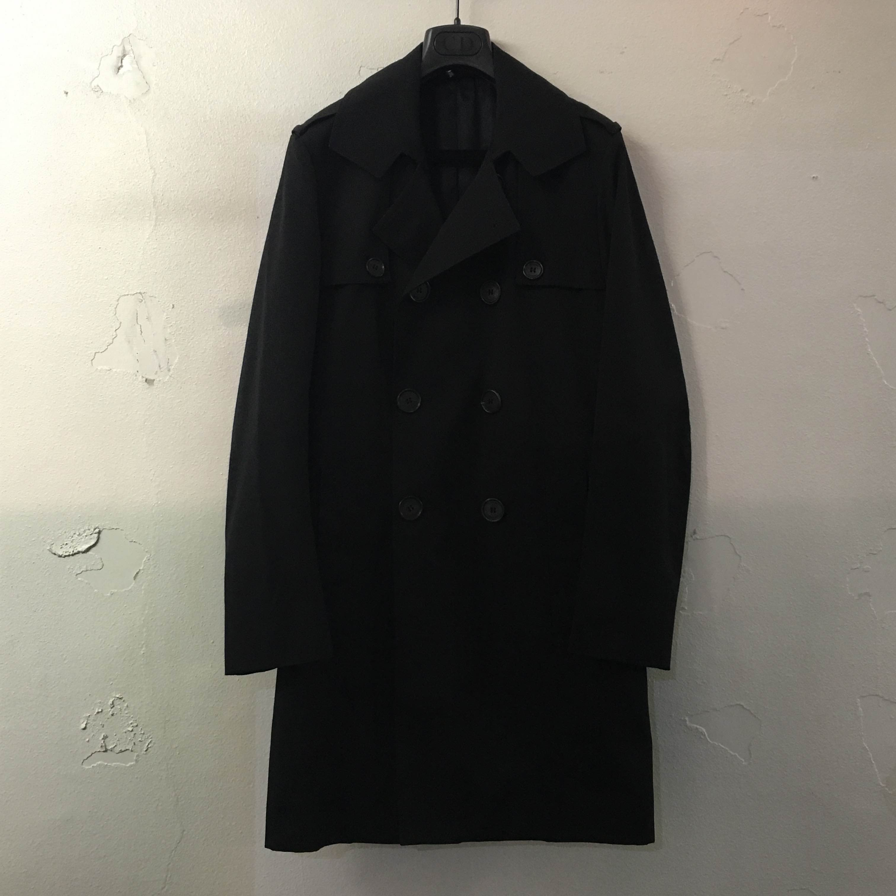 Dior HOMME 07AW ポリコットントレンチコー