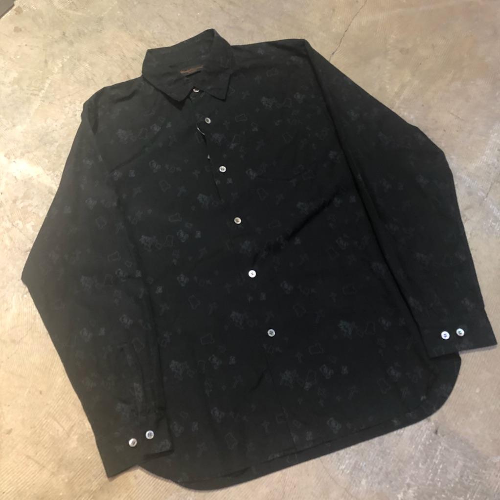 UNDERCOVERISM 02AW クロスプリントシャツ