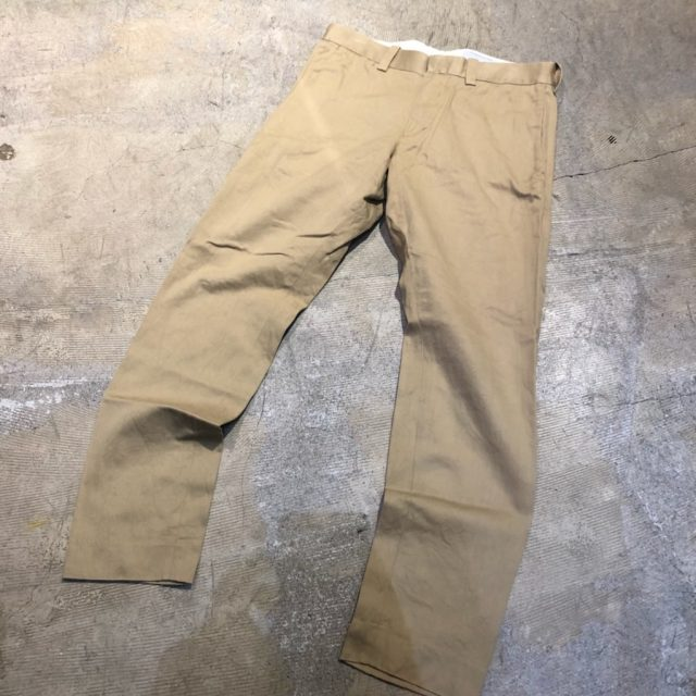 YAECA 14SS CHINO CLOTH PANTS SLIM