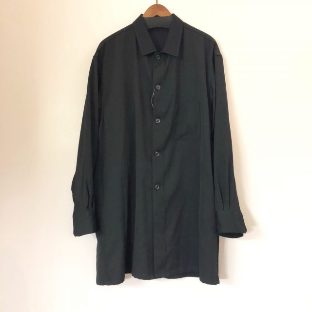 Yohji Yamamoto POUR HOMME 18SS ウールギャバジンシャツジャケット