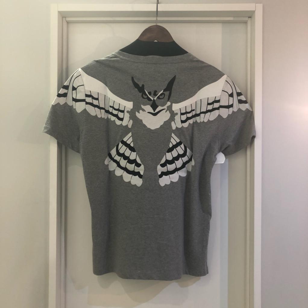 VALENTINO 15AW フクロウパッチTシャツ