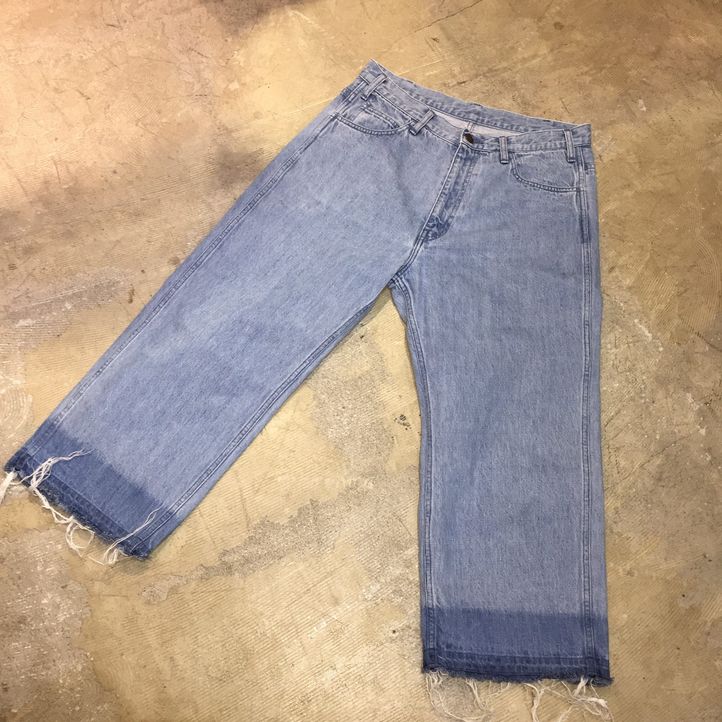 UNUSED 16SS 13oz denim wide pants 3