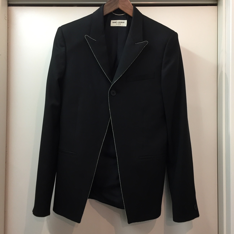 SAINT LAURENT PARIS 13SS クリスタル装飾ジャケット