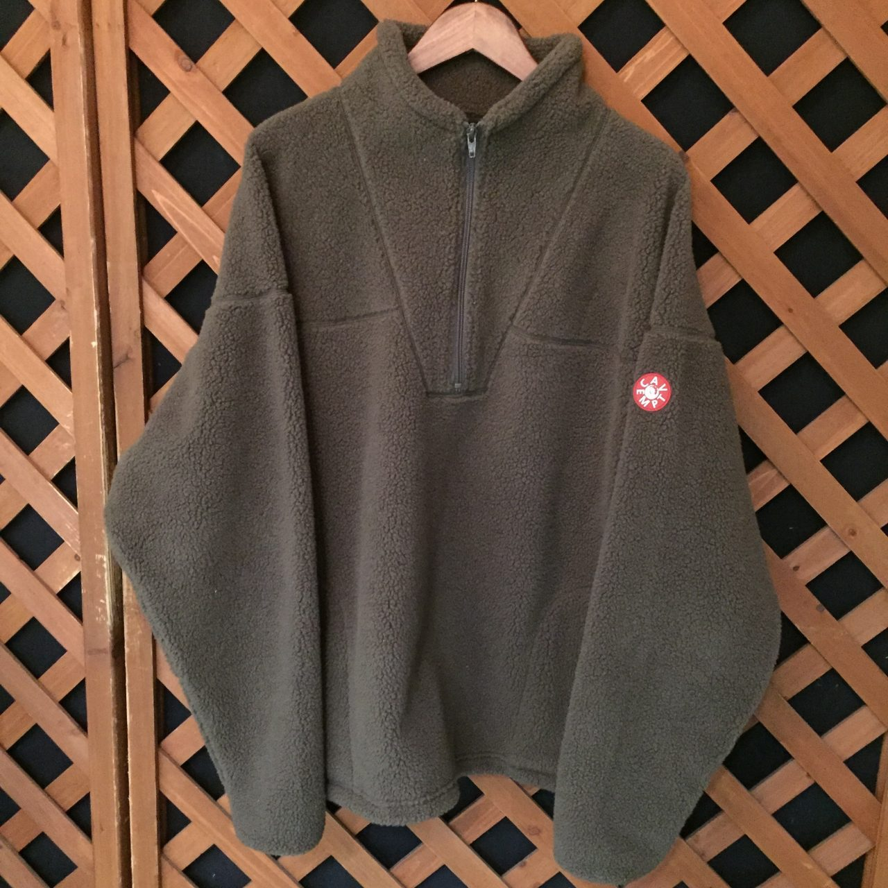 C.E 16AW HEAVY FLEECE HALF ZIP