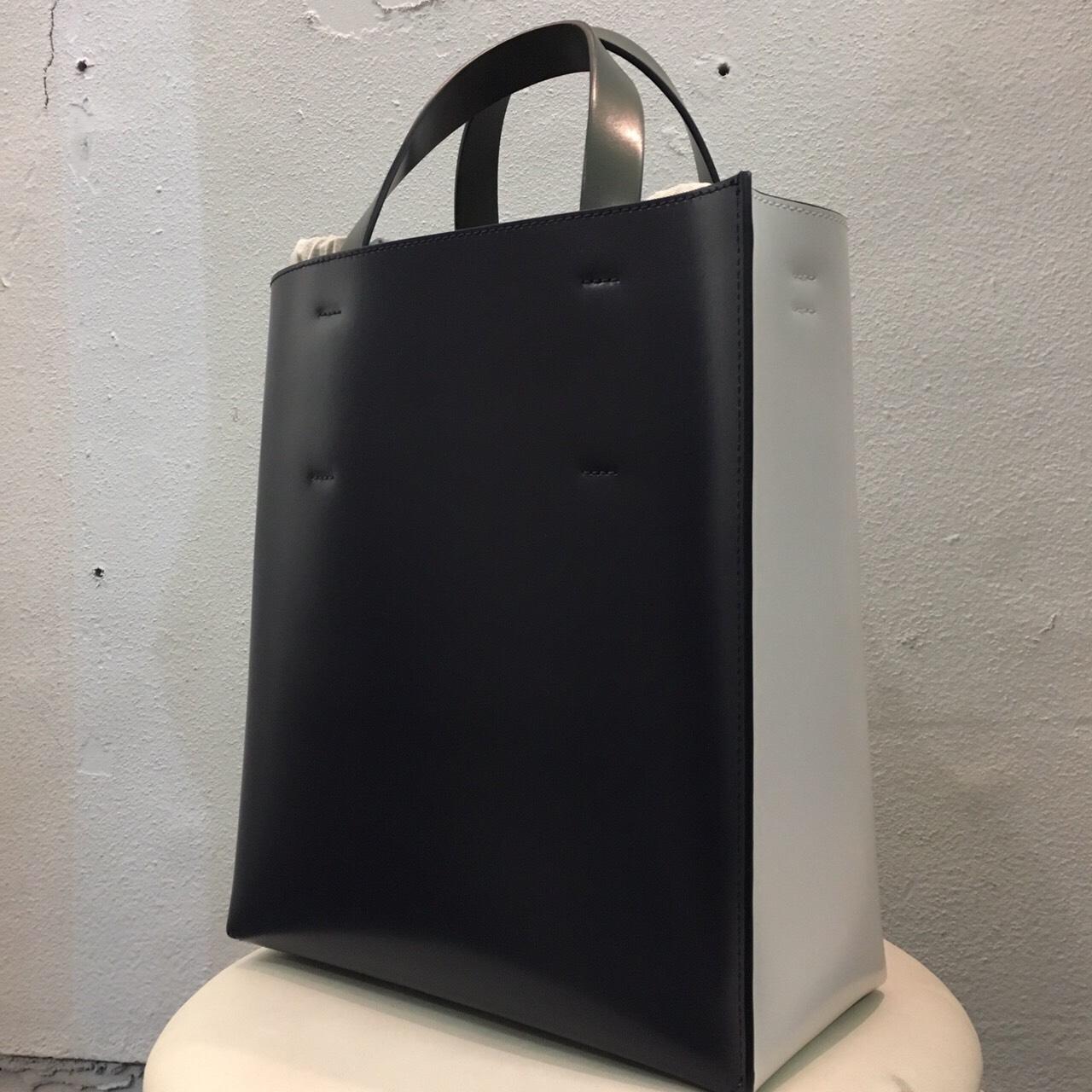 MARNI 17SS MUSEO カーフレザーショッピングバッグ