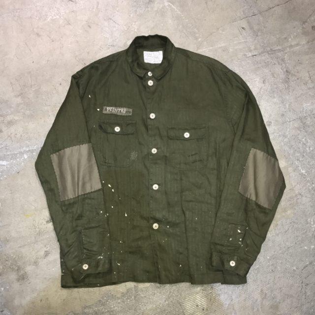 Porter Classic ハンドワークミリタリーシャツジャケット