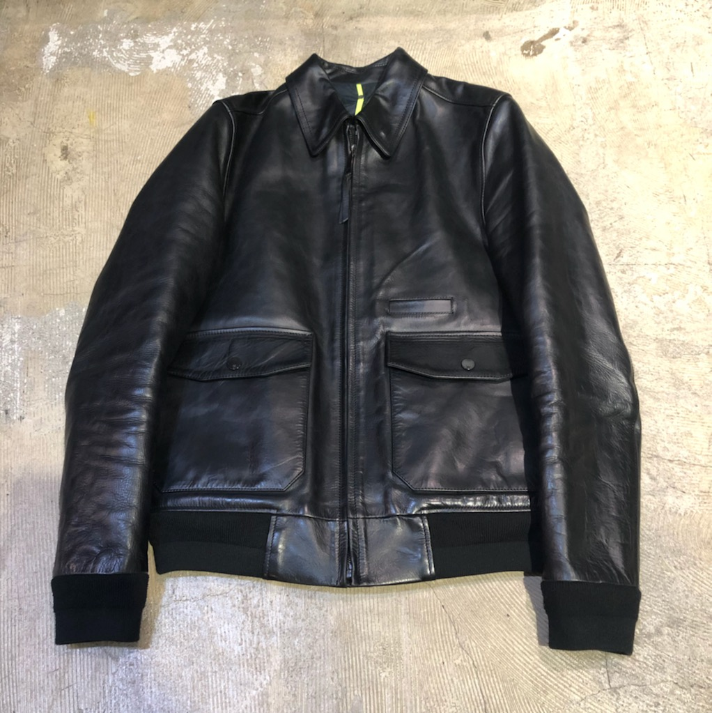 OAMC 14AW LEATHER FACTORY JACKET
