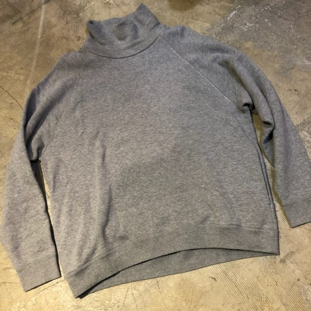 Graphpaper × LOOPWHEELER 17AW HIGH NECK SWEAT PULLOVER