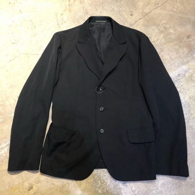 Yohji Yamamoto POUR HOMME 14SS ウールギャバジンテーラードジャケット