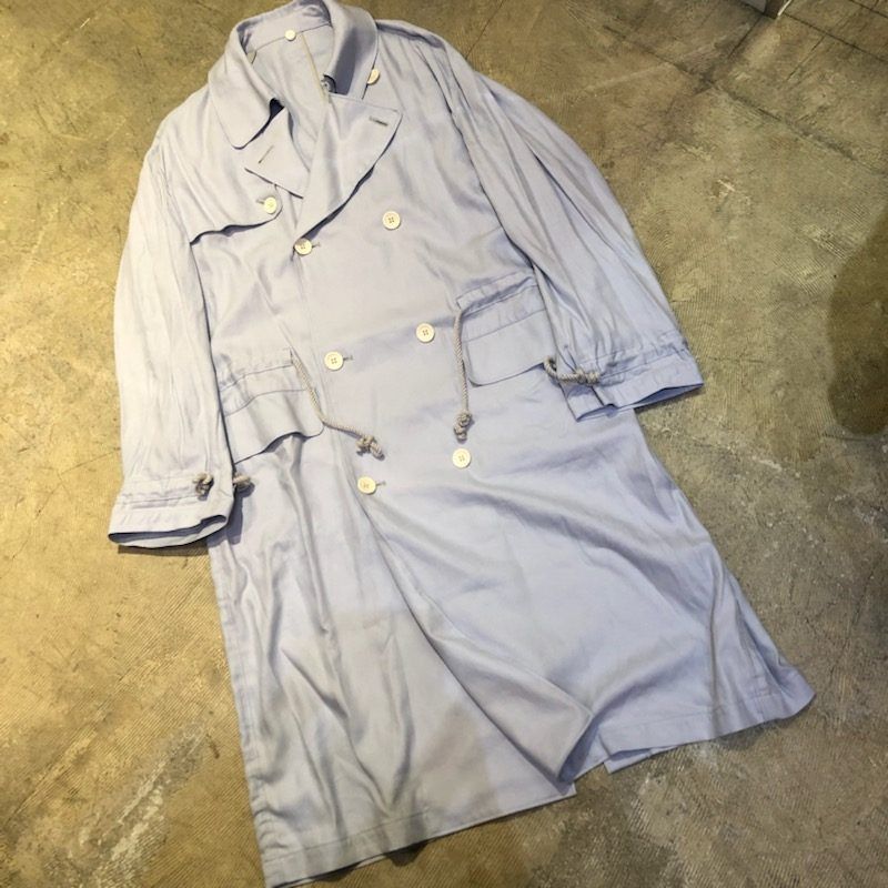 Name. 19SS LINEN ROPE DRAWSTRINGS TRENCH COAT