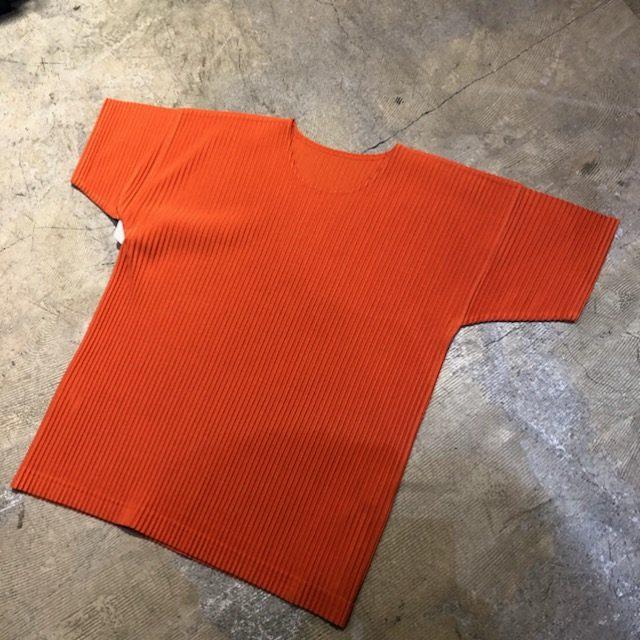 HOMME PLISSE ISSEY MIYAKE 16SS プリーツ加工Tシャツ
