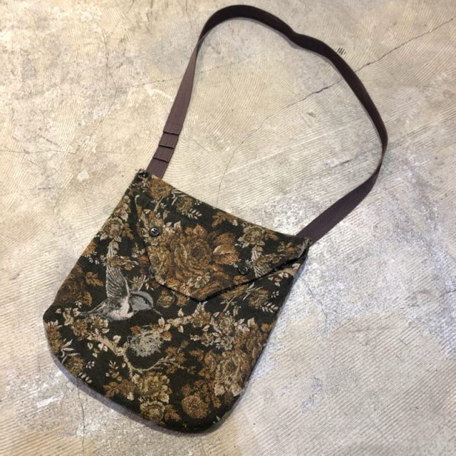 Engineered Garments 17AW Shoulder Pouch-Hummingbird Jacquard
