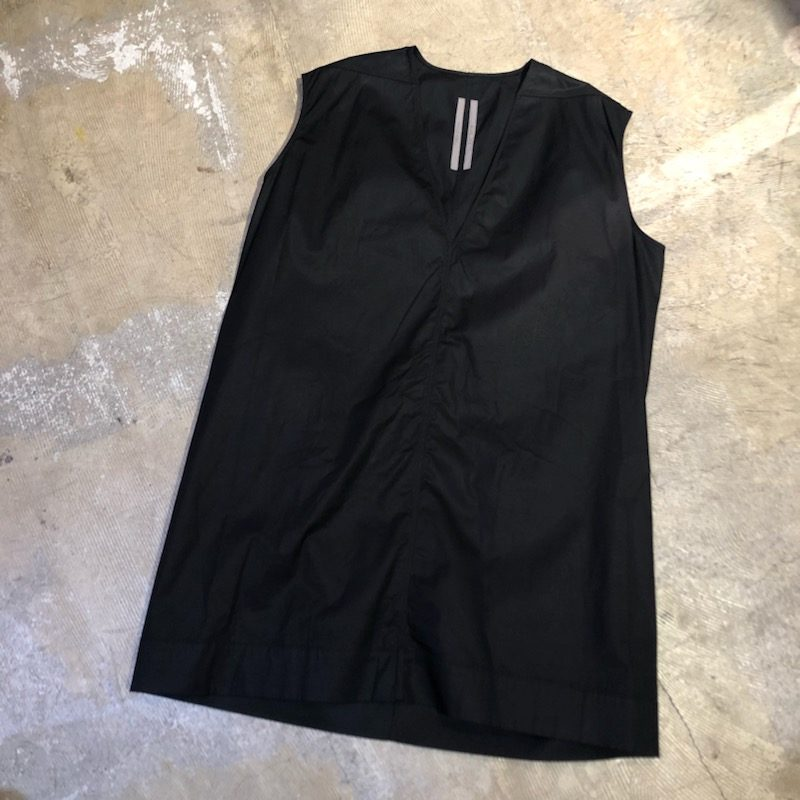 Rick Owens 18SS DIRT V Neck Jumbo Top
