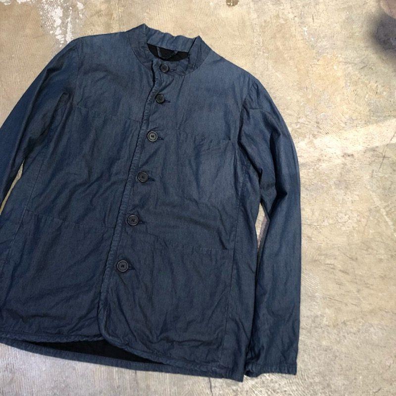 CASEY CASEY Denim Jacket カラーレスコットンワークジャケット