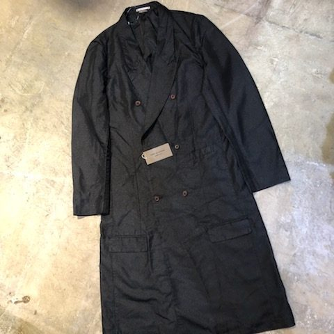 COMME des GARCONS HOMME PLUS 19AW ダブルブレストロングコート