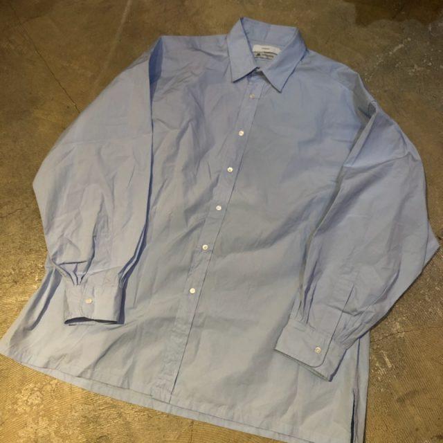 Graphpaper 19SS thomas mason regular shirt