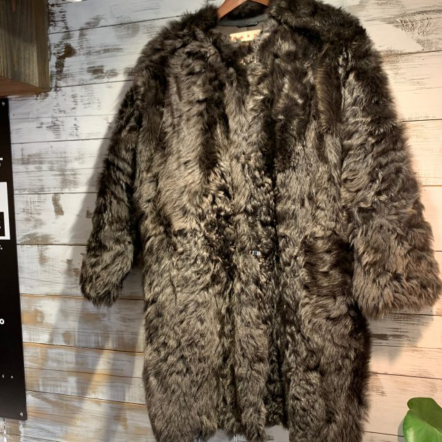MARNI 17AW Sheepskin fur coat