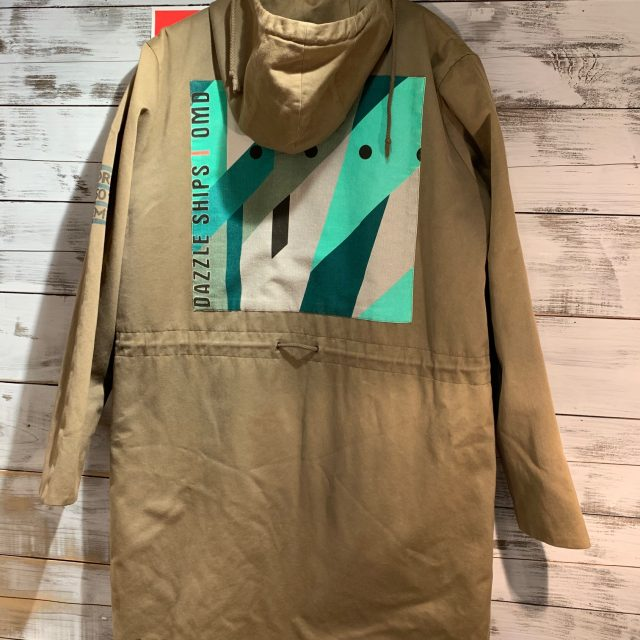 RAF SIMONS 03AW Closer期 Peter Saville Dazzle Ships patch Mods coat