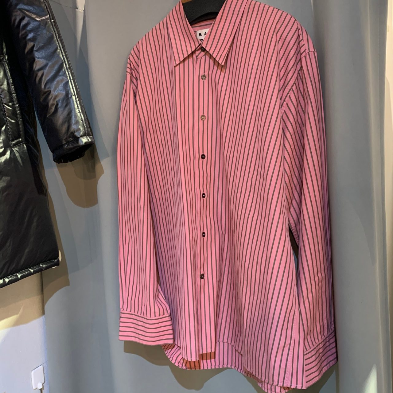 MARNI 18SS Oversized Striped Shirt