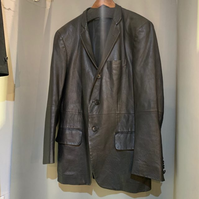 ISSEY MIYAKE 06SS Classic Leather Tailored Jacket