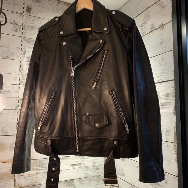 LAD MUSICIAN 17SS HORSE HIDE DOUBLE RIDERS JACKET