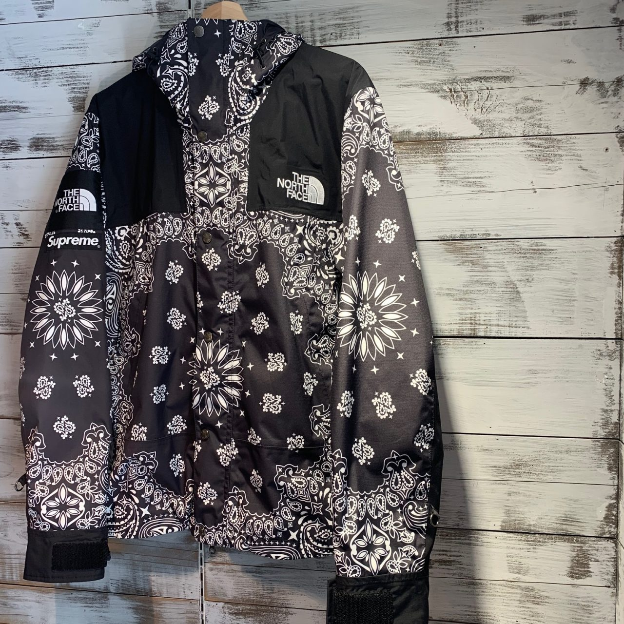 SUPREME×THE NORTH FACE 14AW Bandana Mountain Parka
