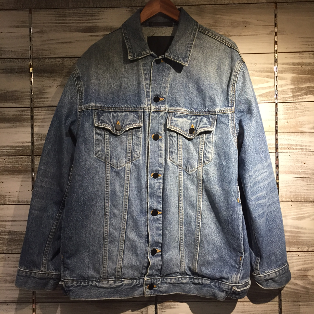 Alexander Wang 16AW DAZE OVERSIZED DENIM JACKET