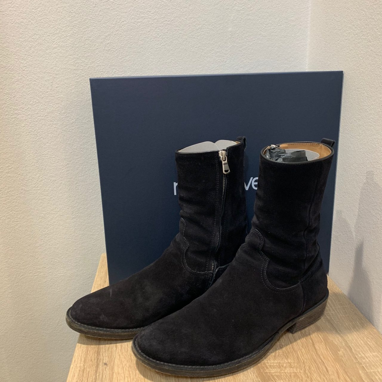 MINEDENIM×nonnative 19SS Side Zip Boots