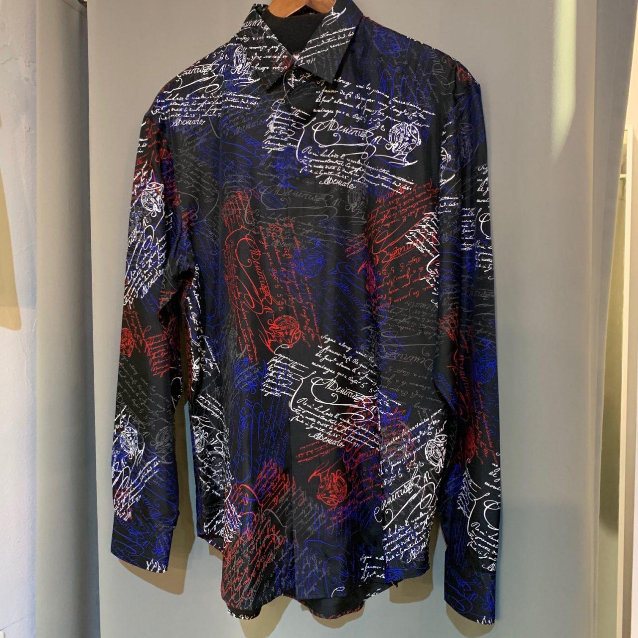 Berluti 19SS Silk Print Shirt