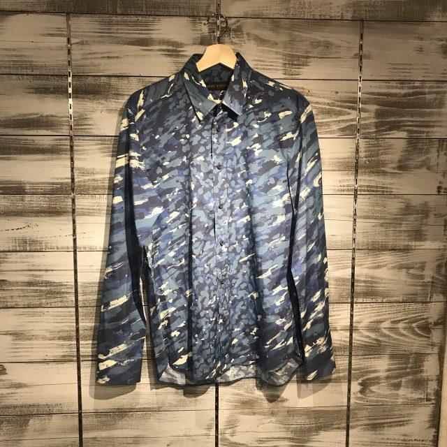 LOUIS VUITTON 16SS カモフラージュモノグラムシャツ