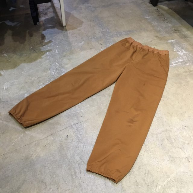 Sasquatchfabrix. 17AW FLEECY KNITTING PANTS