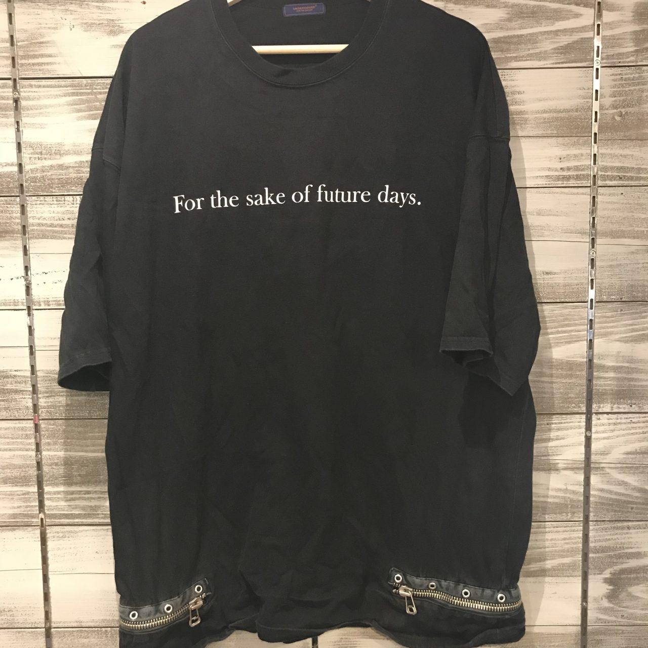 UNDER COVER 16SS T期復刻 ジップビッグTシャツ