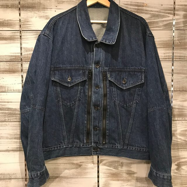 ESSAY 16SS J-2 OVERSIZED DENIM JACKET