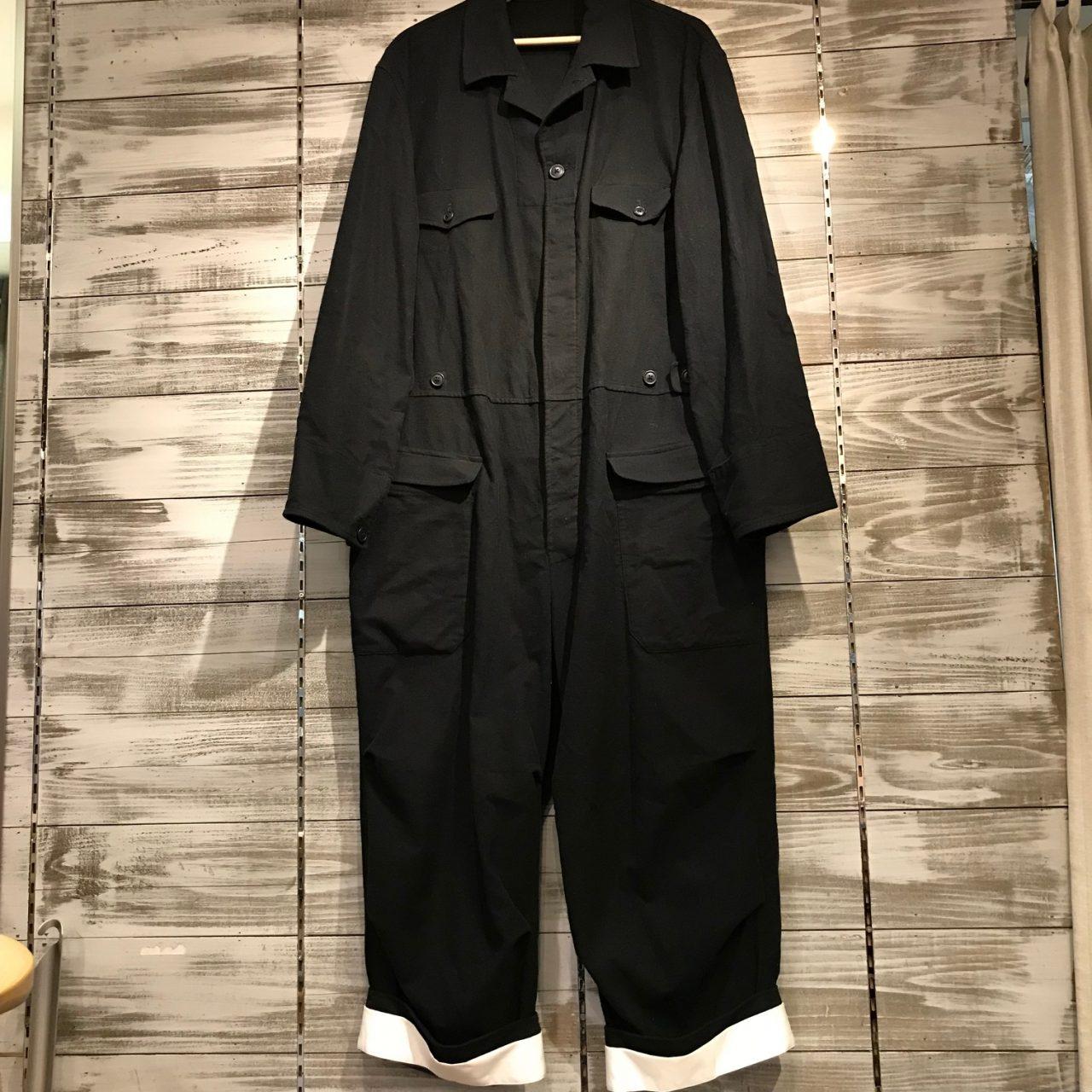 Yohji Yamamoto POUR HOMME 17AW LOOK25 コットンフランネルジャンプスーツ