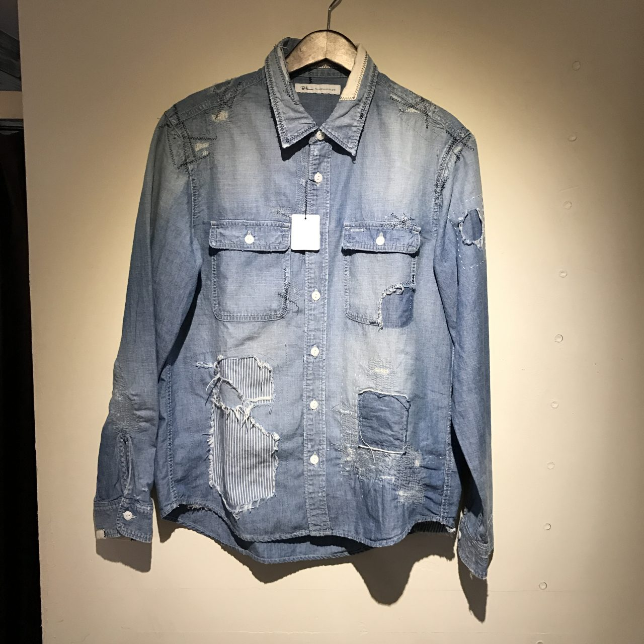Ron Herman California 17SS Remake Chambray Shirt