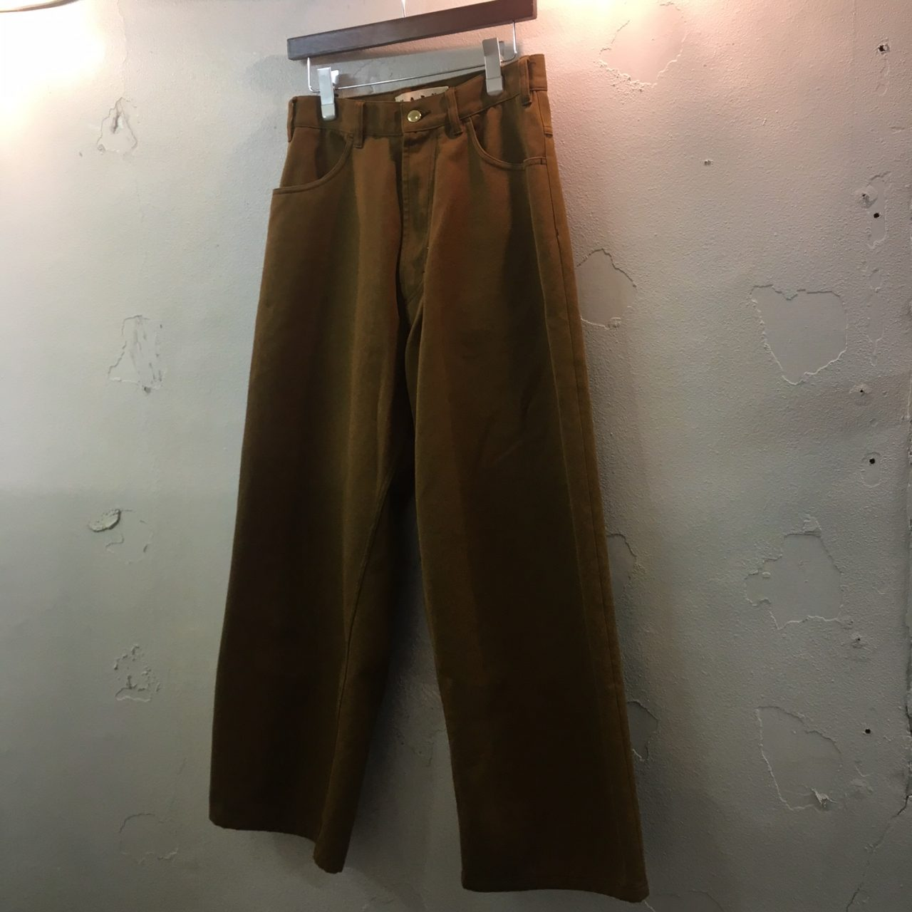 MARNI 18SS Cotton Wide Trousers