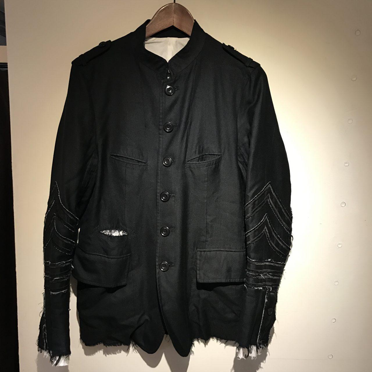 TAKAHIROMIYASHITA The SoloIst 15SS nehru collar jacket