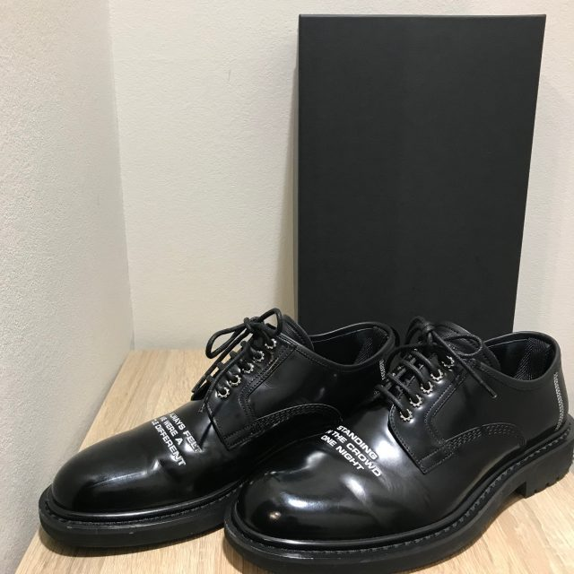 """Dior HOMME 18SS """"STANDING IN THE CROWD ONE NIGHT"""" shoes"""