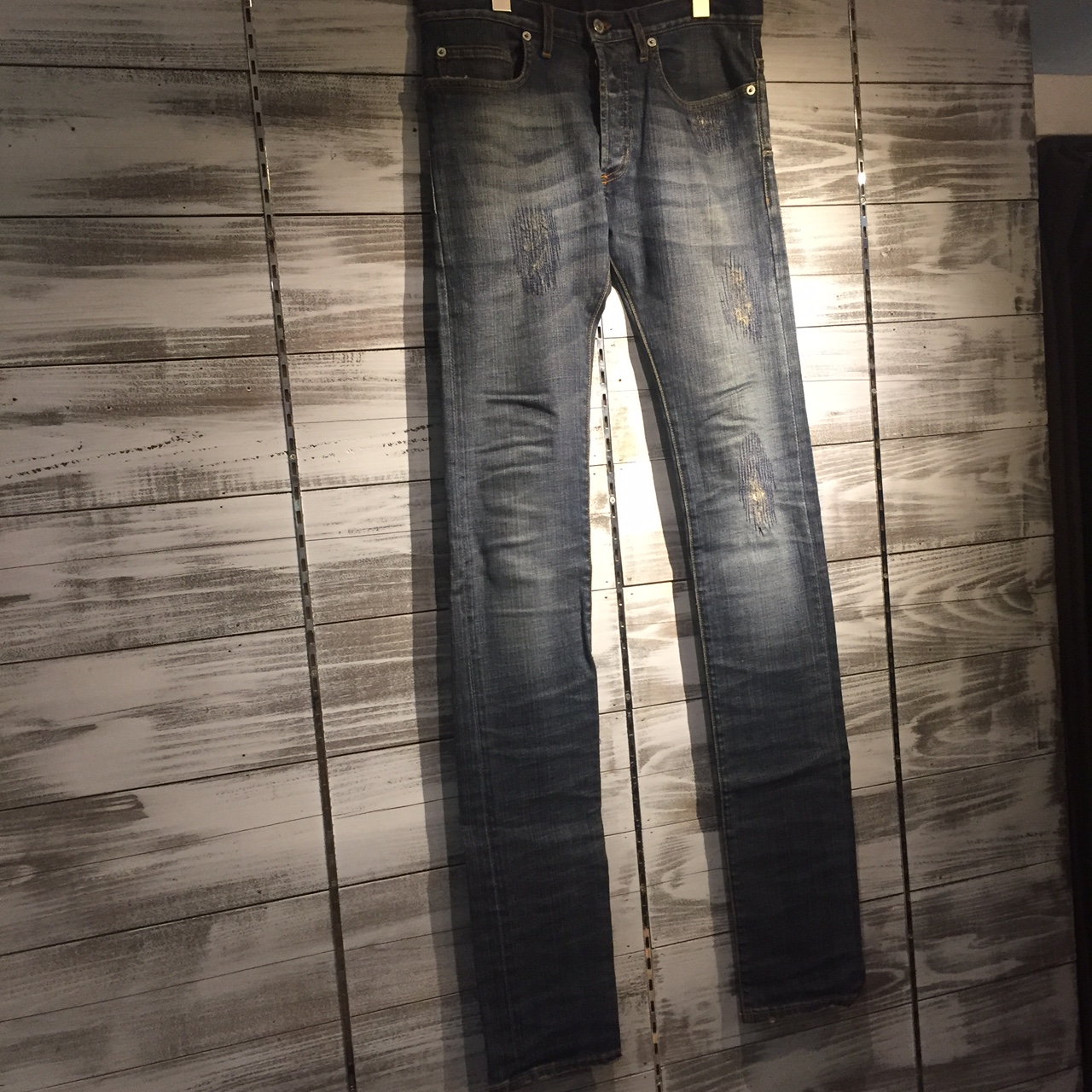 Dior Homme 08AW CUSTOM JAKE DENIM PANTS