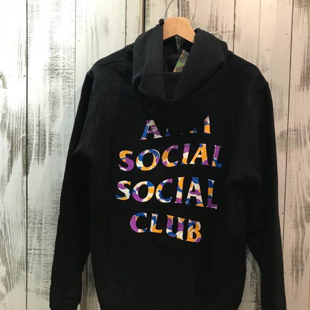 A BATHING APE×Anti Social Social Club 18SS hoodie