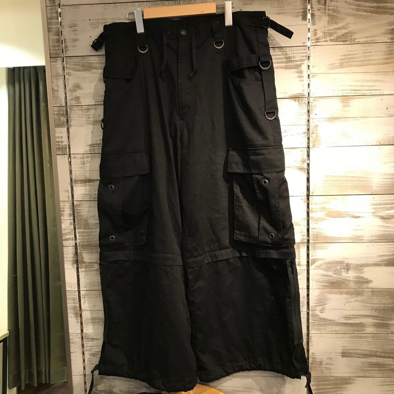 ESSAY 18SS Gothic Pants ワイドカーゴパンツ