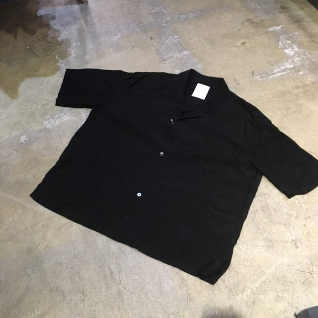 whowhat 18SS OPEN COLLAR SHIRT
