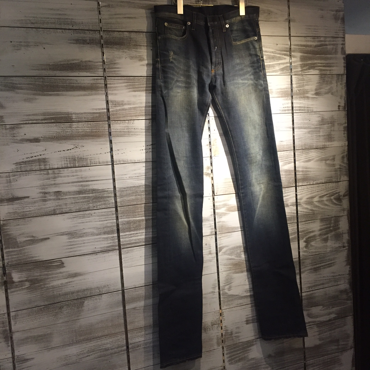 Dior Homme 10AW UNDER MY TRUCK DENIM PANTS